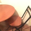 テーブルイス2脚SET