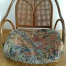 座椅子とミニテーブルセット