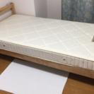 ニトリ シングルベッド マットレス付き 定価24,800円をお得に...