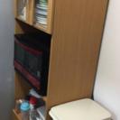 美品 ニトリ食器棚をお得にお譲りします!! 【ニトリ レンジボード...