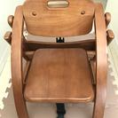 大和屋 Arch(アーチ) 木製ローチェア LB(ライトブラウン)