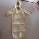 ベビーダウン&寝袋12〜18ヶ月(80サイズ)