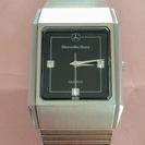 ベンツbenz 車メーカーメンズ腕時計 電池交換済USED(L10)