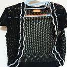 ボレロ 3枚セット 黒 ドレスに羽織れる!