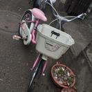 女の子向け16インチ自転車 阿佐ヶ谷