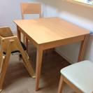 【交渉中】ダイニングテーブル 伸長式