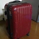 予約済みです【無料で差し上げます】スーツケース ダメージあり
