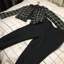 【新品未使用】大きいサイズ 15号 パンツスーツ