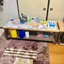 DIY  移動パソコン台2