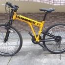 HUMMER(ハマー) 26インチ マウンテンバイク イエロー 1...