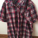 半袖チェックシャツ!