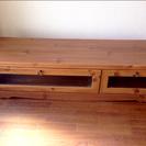 カフェ風家具で人気のNOCE テレビボード 扉、引出し付き