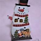 (美品)ブリキスノーマン雑貨Bタイプ クリスマス雑貨