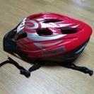 自転車用の赤いヘルメット(Lサイズ)を1000円で