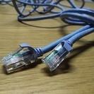 PCにインターネットをつなぐケーブル(5mと3m)を2本で1000円