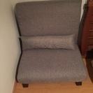 一人掛け座椅子ソファ 天然木脚付 42段階リクライニング