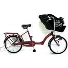 【お譲り先決まりました】アサヒ プチママンDXミニ 子供乗せ 自転...
