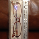 ブルーライト軽減眼鏡 度なし(新品 未使用)
