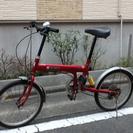 20インチ折りたたみ自転車 サスペンション付き
