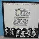 LPレコード シティ・ボーイ 「BOOK・EARLY」