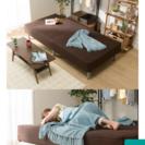 シングルベッド(9カ月のみ使用)+新品ベッドカバー+除湿シート※【...