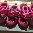 女の子 靴 12.5 新品 双子ちゃん