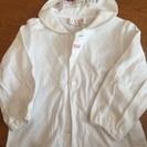 ELLE 80サイズ 白シャツ