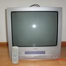 ビデオ内蔵21型ブラウン管テレビ