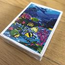 【新品・未開封】モルディブ Maldives フィッシュトランプ カード