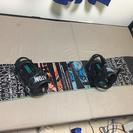 スノボ    板、ブーツ、バインディング、ケース