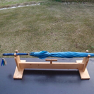 DIY  車トランク用傘ストッカー