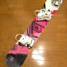 【さらに値下げしました】スノーボード板(ブランド不明)