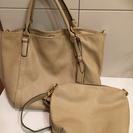 バッグとポシェットの親子セット