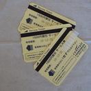セントレア駐車券 1500円x3枚