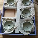 新品未使用 蓋つき小鉢5個セット