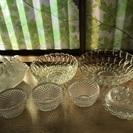 ガラス食器まとめ売り(クリア、白)