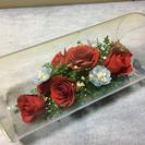 薔薇の花の置物 🌹