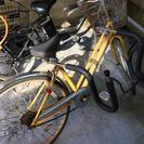 自転車(サーフボードキャリア付き)