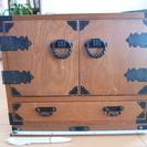 昭和レトロな小物入れ 小箪笥 収納箱
