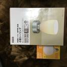 未使用 小型シーリング+電球