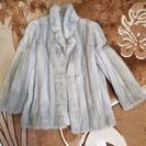 ミンクのコートです。