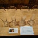 手作りグラス 4個