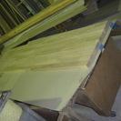 カウンターの天板 お引き取りの方 楢の集成材   新価格
