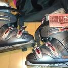 【使用4時間】25.5 スキーブーツ スキー靴お譲りします