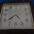 (W-50) SEIKO 壁掛時計 SH343B ※作動確認済品・...