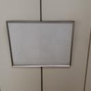 ステンレス額縁(外形寸法:53×41cm)全面ガラス入り
