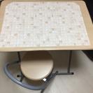折たたみテーブル椅子セット