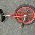 OGK製品 一輪車 赤