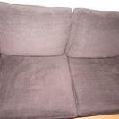 IKEA ソファ(たしかKIVIK_こげ茶色‗購入3年目)