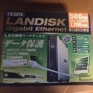 IODETA  500GB LANハードディスク